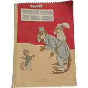 Large Deans Rag Book Who's Who At The Zoo c1930
