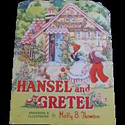 Hansel & Gretel Kiddie Cut Book 1950's
