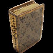 Opening Book Form Pincushion c1840