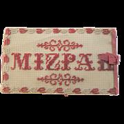 Mizpah Beadwork Needlecase c1860
