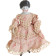 China Dolls House Doll In Pretty Clothes c1910