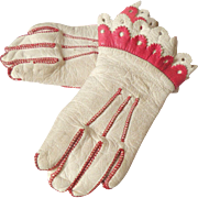 French Dolls Gloves Paris c1880