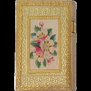Fine Book Form Pincushion Needlecase c1830