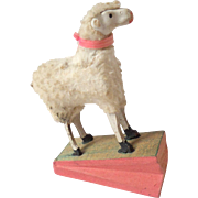 Squeak Toy Sheep c1890