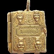 Miniature Wedding Album Tom Thumb c1863
