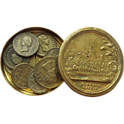 Novelty Coins Windsor Castle Box c1850