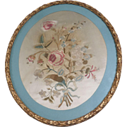 Silk Work Flower Picture c1795