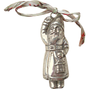 Unusual Santa Father Christmas Rattle c1915