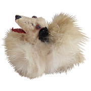 Small Borzoi Salon Dog Soft Fur Covering