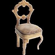 Rare Avery Needle Case Chair c1876