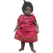Barefoot All Bisque Doll French Market c1900