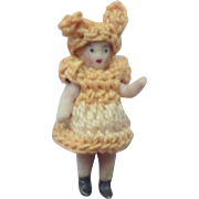 Bunny Rabbit Costume Carl Horn Doll c1915