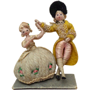Wool & Silk Dancing Dolls c1930