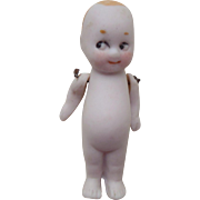 Tiny Googly All Bisque Doll c1920