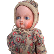 Novelty German Composition Doll c1880