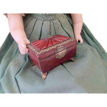 Miniature Regency Child's Sewing Box c1820