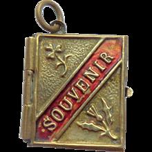 Small Gilt Souvenir Book Royal Family 1920's