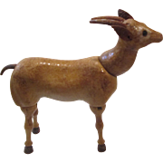 Rare Schoenhut Glass Eye Gazelle