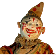 Schoenhut Clown -- 2-Part Head