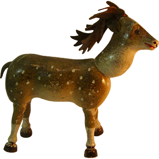 Style 1 Glass Eye Schoenhut Reindeer