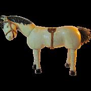 Painted Eye White Horse