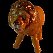 Beautiful Painted Eye Schoenhut Full-Size Lion
