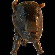 Schoenhut Reduced Size Buffalo