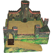 Ca. 1920's Pretty German Toy Castle