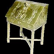 Antique miniature Erhard & Söhne Sideboard/Writing Desk