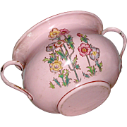 Prettiest  Vintage Enamel  Graniteware pink pot