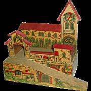 Ca. 1910 Stunning Antique German Toy Castle