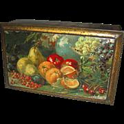 Ca. 1920 Stunning tin box Wed.J. Bekkers & Zoon, Dordrecht