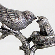 Cast Iron Exceptional Fine Vintage Birds