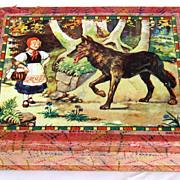 1920's Beautiful German Complete Block Puzzle