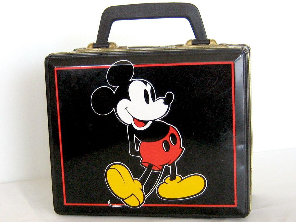 1960' - 70s Original Disney Mickey Mouse Lunch Box