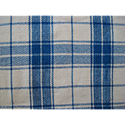 Beautiful Antique Blue and White Homespun Blanket