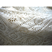 Victorian Bed Cover with exceptional detail and workmanship