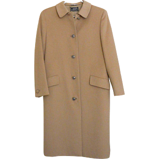 Gianni Versace - Italy  Women's Camel Hair Coat