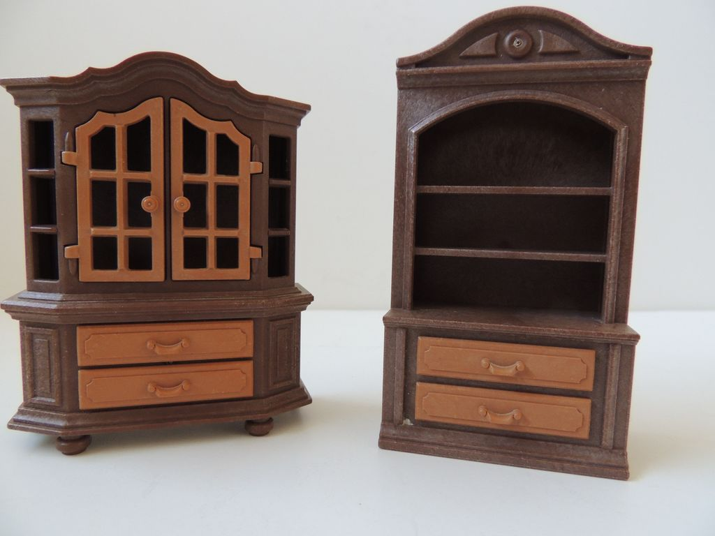 2 Pieces Doll House Furniture