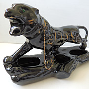 Vintage Black Panther Planter