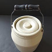 Stoneware Preserve Crock Jar