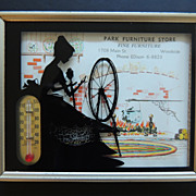 Advertising Silhouette with Thermometer