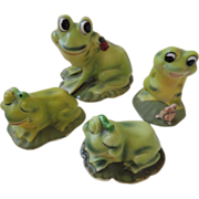 Josef Originals Figurine Frogs