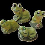 Josef Originals Figurine Frogs