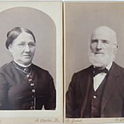 2 Cabinet Card Photos