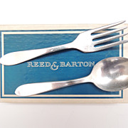 Reed & Barton Child's Spoon & Fork Set