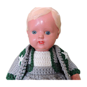 German Celluloid Doll Schildkrot