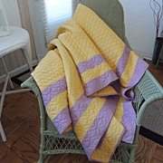 Hand Quilted Summer Quilt