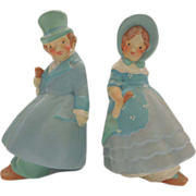 Coventry Ware Figurine Bookends