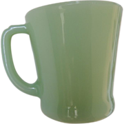 Vintage Jadeite Fire King Mug Anchor Hocking